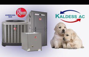Rheem AC units and Lab