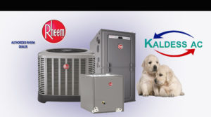 lab and Rheem AC Unit