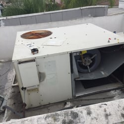 Kaldess AC 30 Before Commercial Roof Pack Unit