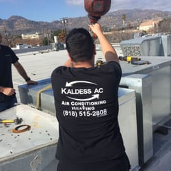 Kaldess AC 45 Roof Pack Unit Commercial Air Conditioning Installation West Covina CA